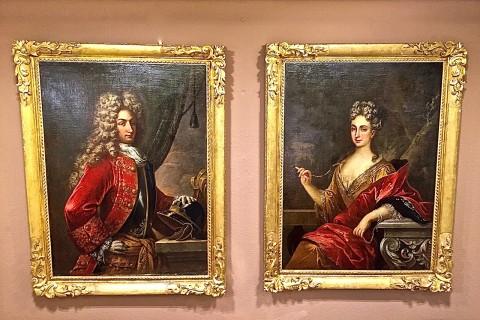 Coppia dipinti XVIII Secolo